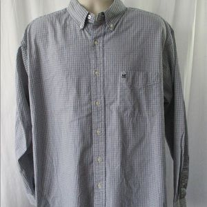 American Eagle Outfitters Shirt Sz L Washed Oxford